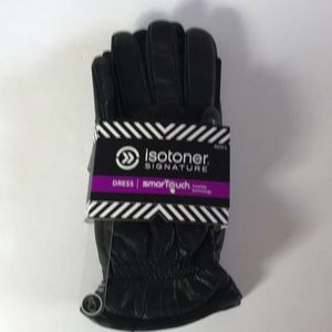 NEW$90 ISOTONER Signature Dress Smart Touch Gloves